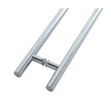 Inline Pull Handle Stainless Steel Set Grade 304 1200mm x 32mm Polished