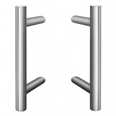 Offset Pull Handle Stainless Steel Set Grade 304 1200mm x 32mm